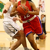 12-2-17<br /> Kokomo vs Peru girls basketball<br /> Tevin Deckard looks to the basket.<br /> Kelly Lafferty Gerber | Kokomo Tribune