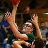 12-8-17<br /> Eastern vs Tri Central boys basketball<br /> Eastern's Nolan Smalley puts up a shot.<br /> Kelly Lafferty Gerber | Kokomo Tribune