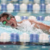 12-6-17<br /> Kokomo swimming<br /> Cortlandt Kalkstein in the boys 100 yard freestyle.<br /> Kelly Lafferty Gerber | Kokomo Tribune
