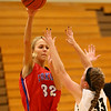 12-2-17<br /> Kokomo vs Peru girls basketball<br /> Brittany Barnard throws a pass.<br /> Kelly Lafferty Gerber | Kokomo Tribune