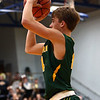12-8-17<br /> Eastern vs Tri Central boys basketball<br /> Eastern's Matthew Arcari puts up a shot.<br /> Kelly Lafferty Gerber | Kokomo Tribune