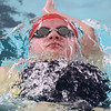 12-6-17<br /> Kokomo swimming<br /> Madison Cleaver in the girls 200 yard IM.<br /> Kelly Lafferty Gerber | Kokomo Tribune