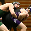 12-28-17<br /> Eastern wrestling classic<br /> Eastern's Garrett Hetzner takes down NW's Christian Stout in the 170.<br /> Kelly Lafferty Gerber | Kokomo Tribune