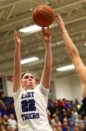 12-14-17<br /> Northwestern vs Heritage Christian girls basketball<br /> <br /> Kelly Lafferty Gerber | Kokomo Tribune