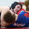 12-19-17<br /> Kokomo vs Northwestern wrestling<br /> NW's Patrick Harris defeats Kokomo's Cody Westernman in the 182.<br /> Kelly Lafferty Gerber | Kokomo Tribune