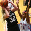 12-5-17<br /> Kokomo vs Western girls basketball<br /> Western's Clara Braswell shoots.<br /> Kelly Lafferty Gerber | Kokomo Tribune