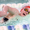12-6-17<br /> Kokomo swimming<br /> Shelby Wells in the girls 50 yard freestyle.<br /> Kelly Lafferty Gerber | Kokomo Tribune