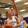 12-15-17<br /> Northwestern vs Maconaquah boys basketball<br /> NW's Logan Bowser looks to the basket.<br /> Kelly Lafferty Gerber | Kokomo Tribune