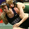 12-28-17<br /> Eastern wrestling classic<br /> Eastern's Tallan Morrisett takes down NW's Tommy Lunsford in the 120.<br /> Kelly Lafferty Gerber | Kokomo Tribune