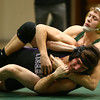 12-28-17<br /> Eastern wrestling classic<br /> Eastern's Tytus Morrisett takes down NW's Brayden Scering in the 138.<br /> Kelly Lafferty Gerber | Kokomo Tribune