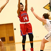 12-2-17<br /> Kokomo vs Peru girls basketball<br /> Victoria Watkins shoots.<br /> Kelly Lafferty Gerber | Kokomo Tribune