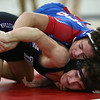 12-19-17<br /> Kokomo vs Northwestern wrestling<br /> Kokomo's Rico Barbary defeats NW's Brayden Scering in the 138.<br /> Kelly Lafferty Gerber | Kokomo Tribune