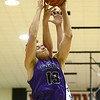 12-1-17<br /> Northwestern vs Western boys basketball<br /> T.J. Macaluso grabs a rebound.<br /> Kelly Lafferty Gerber | Kokomo Tribune