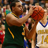 12-8-17<br /> Eastern vs Tri Central boys basketball<br /> Eastern's Antonio Matthews looks for a pass.<br /> Kelly Lafferty Gerber | Kokomo Tribune