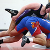 12-19-17<br /> Kokomo vs Northwestern wrestling<br /> NW's Kyle Cardwell defeats Kokomo's Kaijon East in the 220.<br /> Kelly Lafferty Gerber | Kokomo Tribune