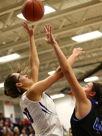 12-14-17<br /> Northwestern vs Heritage Christian girls basketball<br /> Madison Layden shoots.<br /> Kelly Lafferty Gerber | Kokomo Tribune