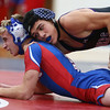 12-19-17<br /> Kokomo vs Northwestern wrestling<br /> NW's Marcos Castorena defeats Kokomo's Taylor Duncan in the 126.<br /> Kelly Lafferty Gerber | Kokomo Tribune