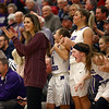12-14-17<br /> Northwestern girls basketball coaches<br /> Head coach Kathie Layden applauds one of her players (Taylor Boruff) as Boruff was sinking almost every shot she made.<br /> Kelly Lafferty Gerber | Kokomo Tribune