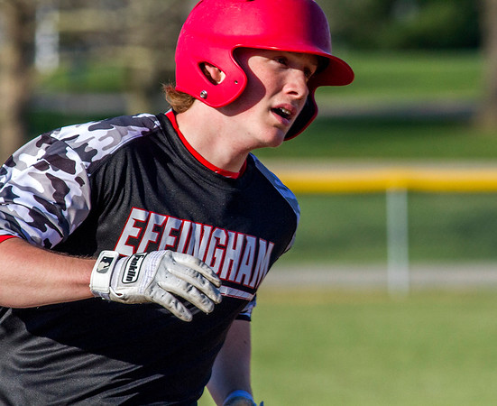 HONORABLE MENTION<br /> Mason Hull<br /> <br /> Effingham<br /> <br /> Statistics<br /> <br /> .341 BA, .504 OBP, .623 SLG, 15 2B, 3 HR, 26 RBI, 28 R, 28 BB, 2 SB, 1-0, 1 SV, 17 IP, 2.47 ERA, 9 K, 5 BB<br /> <br /> Awards/Honors<br /> <br /> Second Team All-Apollo Conference