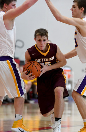 THIRD TEAM<br /> Callaway Campton<br /> <br /> Dieterich • Junior forward<br /> <br /> 2016-17 Statistics<br /> <br /> 13.9 PPG, 5.5 RPG, 3.0 APG, 48 FG%, 25 3PT%, 69 FT%<br /> <br /> Awards/Honors<br /> <br /> All-Cumberland Thanksgiving Tournament Team, All-Dieterich Holiday Tournament Team, All-National Trail Conference Tournament Team, Second Team All-National Trail Conference