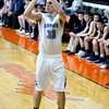 FIRST TEAM <br /> Landon Feezel<br /> <br /> St. Elmo/Brownstown • Senior forward<br /> <br /> 2016-17 Statistics<br /> <br /> 21.0 PPG, 10.6 RPG, 1.7 APG, 1.8 SPG, 46 FG%, 30 3PT%, 68 FT%<br /> <br /> Awards/Honors<br /> <br /> All-Mulberry Grove Thanksgiving Team, St. Elmo Holiday Tournament Most Valuable Player, All-National Trail Conference Tournament Team, First Team All-National Trail Conference, IBCA Class 1A/2A All-State Honorable Mention, set St. Elmo/Brownstown career rebounding record
