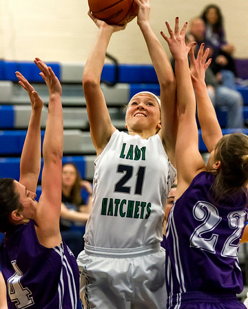 FIRST TEAM<br /> Megan Schlechte<br /> <br /> Windsor/Stew-Stras • Sophomore forward<br /> <br /> 2016-17 Statistics<br /> <br /> 15.5 PPG, 7.6 RPG, 1.3 APG, 2.3 SPG, 35 FG%, 58 FT%<br /> <br /> Awards/Honors<br /> <br /> All-Arthur Knights Holiday Classic Team, National Trail Conference Tournament Most Valuable Player, First Team All-National Trail Conference, IBCA Class 1A/2A All-State Honorable Mention