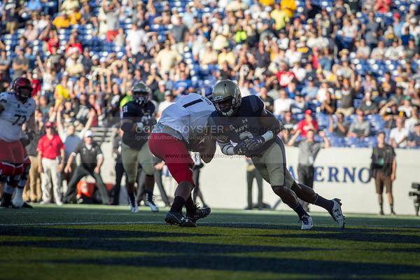 NCAA Football 2017: Cincinnati vs. Navy SEP 23