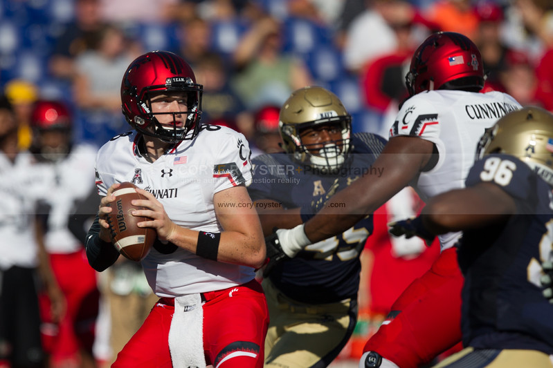 NCAA Football 2017: Cincinnati vs. Navy SEP 23