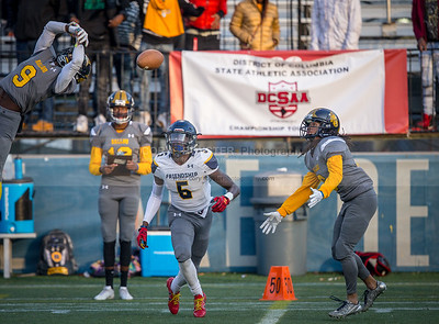 Ballou vs Friendship - DCSAA AA Football Championship