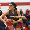 2-25-17<br /> IUK vs Ohio Christian girls basketball<br /> Dejianna Butler makes her way to the basket.<br /> Kelly Lafferty Gerber | Kokomo Tribune