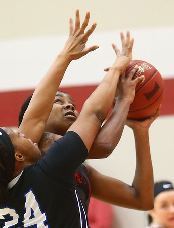 2-25-17<br /> IUK vs Ohio Christian girls basketball<br /> Whitney Williamson shoots.<br /> Kelly Lafferty Gerber | Kokomo Tribune