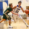 2-7-17<br /> Tipton vs Eastern boys basketball<br /> Tipton's Sam Gutierrez dribbles down the court.<br /> Kelly Lafferty Gerber | Kokomo Tribune