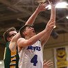 2-7-17<br /> Tipton vs Eastern boys basketball<br /> Tipton's Lukas Swan puts up a shot.<br /> Kelly Lafferty Gerber | Kokomo Tribune