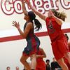 2-22-17<br /> IUK vs Rio Grande girls basketball<br /> IUK's Dejianna Butler shoots.<br /> Kelly Lafferty Gerber | Kokomo Tribune