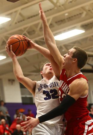 2-17-17<br /> Northwestern defeats Twin Lakes 56-48 for the Hoosier Conference Championship<br /> <br /> Kelly Lafferty Gerber | Kokomo Tribune