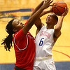 2-10-17<br /> Kokomo vs Richmond boys basketball<br /> Kokomo's Elonte O'Bannon shoots.<br /> Kelly Lafferty Gerber | Kokomo Tribune