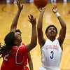 2-10-17<br /> Kokomo vs Richmond boys basketball<br /> Kokomo's Keenen Wheeler shoots.<br /> Kelly Lafferty Gerber | Kokomo Tribune
