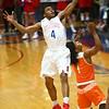 2-24-17<br /> Kokomo vs Fort Wayne Northrop boys basketball<br /> Trajan Deckard catches a pass.<br /> Kelly Lafferty Gerber | Kokomo Tribune