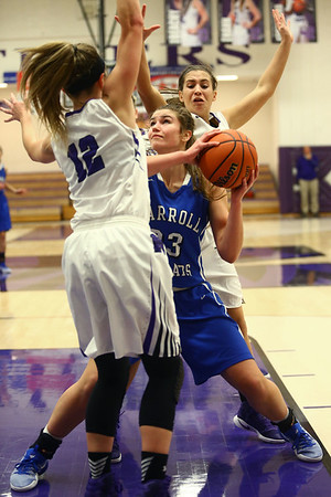 Carroll vs Northwestern #23<br /> Kelly Lafferty Gerber | Kokomo Tribune