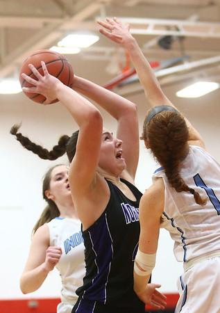 2-11-17<br /> Northwestern vs South Bend St. Joseph girls bball regional<br /> <br /> Kelly Lafferty Gerber   Kokomo Tribune