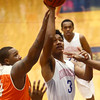 2-24-17<br /> Kokomo vs Fort Wayne Northrop boys basketball<br /> Keenen Wheeler shoots.<br /> Kelly Lafferty Gerber | Kokomo Tribune