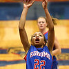 2-3-17<br /> Kokomo vs Zionsville girls basketball<br /> Kokomo's Jayda Andrews shooots.<br /> Kelly Lafferty Gerber | Kokomo Tribune