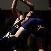 2-4-17<br /> Regional wrestling<br /> Peru's Jordan Rader and Oak Hill's Brody Hardcastle in the 170.<br /> Kelly Lafferty Gerber | Kokomo Tribune