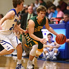 2-7-17<br /> Tipton vs Eastern boys basketball<br /> Eastern's Draeden Morris-Graber dribbles down the court.<br /> Kelly Lafferty Gerber | Kokomo Tribune