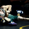 2-4-17<br /> Regional wrestling<br /> Eastern's Gerald Pearson and Oak Hill's Bhupesh Chauhan in the 113.<br /> Kelly Lafferty Gerber | Kokomo Tribune