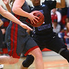 2-25-17<br /> IUK vs Ohio Christian girls basketball<br /> Payton Thomson dribbles to the basket.<br /> Kelly Lafferty Gerber | Kokomo Tribune