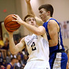 2-21-17<br /> Western vs Carroll boys basketball<br /> Western's Cooper O'Neal shoots.<br /> Kelly Lafferty Gerber | Kokomo Tribune
