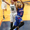 2-3-17<br /> Kokomo vs Zionsville girls basketball<br /> Kokomo's Jayda Andrews puts up a shot.<br /> Kelly Lafferty Gerber | Kokomo Tribune