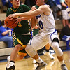 2-7-17<br /> Tipton vs Eastern boys basketball<br /> Eastern's Conner Buck tries to get around Tipton's defense.<br /> Kelly Lafferty Gerber | Kokomo Tribune