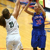 2-3-17<br /> Kokomo vs Zionsville girls basketball<br /> Kokomo's Brittany Barnard shoots.<br /> Kelly Lafferty Gerber | Kokomo Tribune
